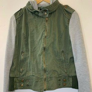 Boy Meets Girl Girls Jean Jacket Multicolor Green